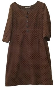 Boden short dress Chestnut on Tradesy