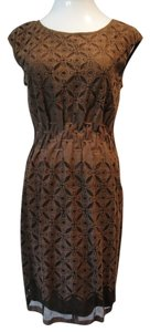 Studio M short dress Brown on Tradesy