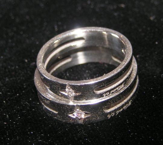 Silver Bogo Free Any Two Listings 2pc Matching Band Free Shipping Jewelry Set Image 1