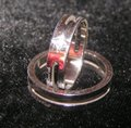 Silver Bogo Free Any Two Listings 2pc Matching Band Free Shipping Jewelry Set Image 3