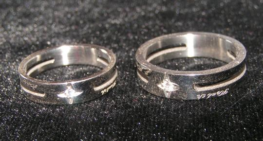Silver Bogo Free Any Two Listings 2pc Matching Band Free Shipping Jewelry Set Image 5