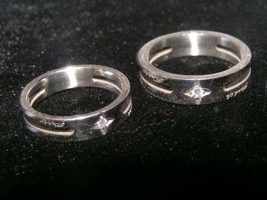 Silver Bogo Free Any Two Listings 2pc Matching Band Free Shipping Jewelry Set Image 6