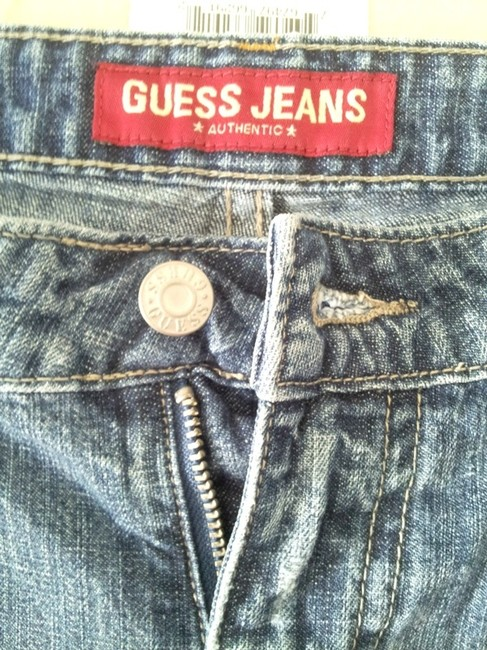 Guess Capri/Cropped Denim-Distressed