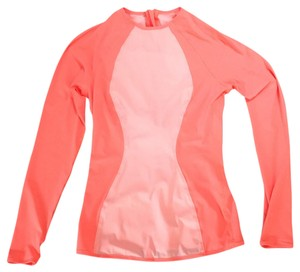 Lululemon Top Grapefruit. (bright orange)