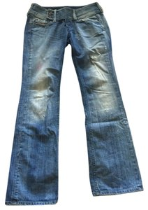 Diesel Boot Cut Jeans-Light Wash