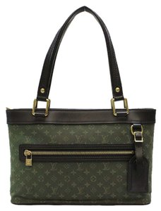 Louis Vuitton Lucille Pm Tote in Olive Green