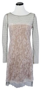 Valentino Lace Netted Mesh Dress