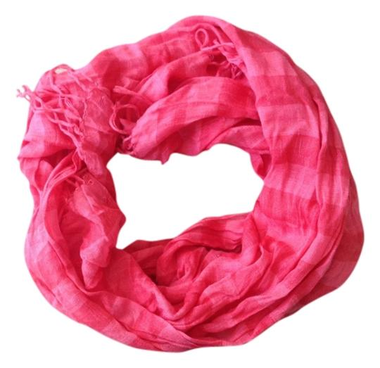 American Eagle Outfitters Poppy Coral Stripe Scarf