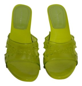 Cascade Blues Green Sandals