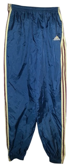 Item - ***2 Pairs***** Dark Blue with Yellow and Maroon Stripes and Green with White Stripes Activewear Bottoms Size 6 (S, 28)
