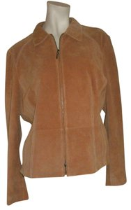 George ME By Mark Eisen Tan Jacket