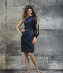 Bari Jay Black/Royal 651 Dress