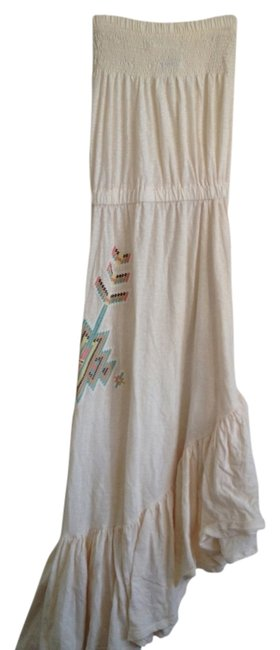 Cream Maxi Dress by As Is