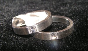 Reduced Matching His & Hers Wedding Bands Free Shipping