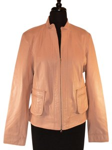 Philippe Adec Pink leather Jacket