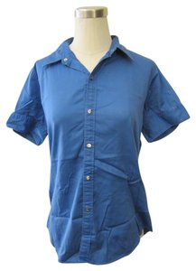 Ralph Lauren Button Down Shirt Golf Blue