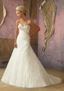 Mori Lee Ivory/Silver 1866 Dress