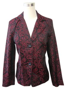 Elementz Black & Red Blazer