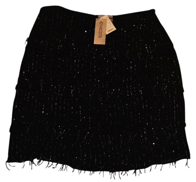 Preload https://img-static.tradesy.com/item/765466/chico-s-black-charleston-tuscan-skirt-knee-length-night-out-dress-size-2-xs-0-0-650-650.jpg