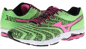 Mizuno Running Sneakers Sneakers Lime/Pink Athletic