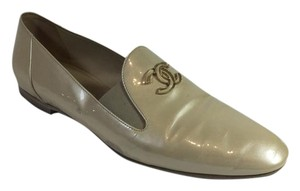 Chanel Champagne Flats