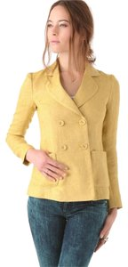Theory Fall Winter Layer Mustard Blazer