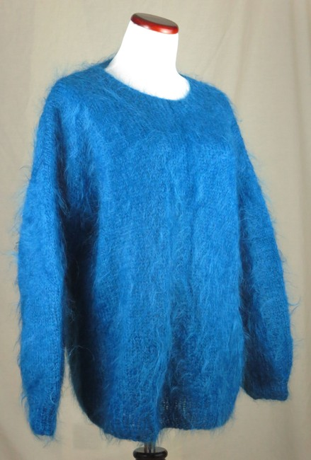 Other Hand Made Hand Knit Mohair Mohair Large/oversized Sweater