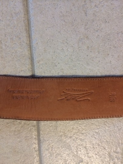"Zella Zel leather cowhide belt 32"" fits 30.5"" to 33.5"""
