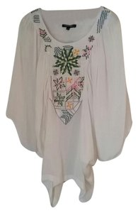 Anthropologie Gypsy Hippie Bohemian Boho Couture Celeb Fashion Runway Designer Anthro Top Multi-color
