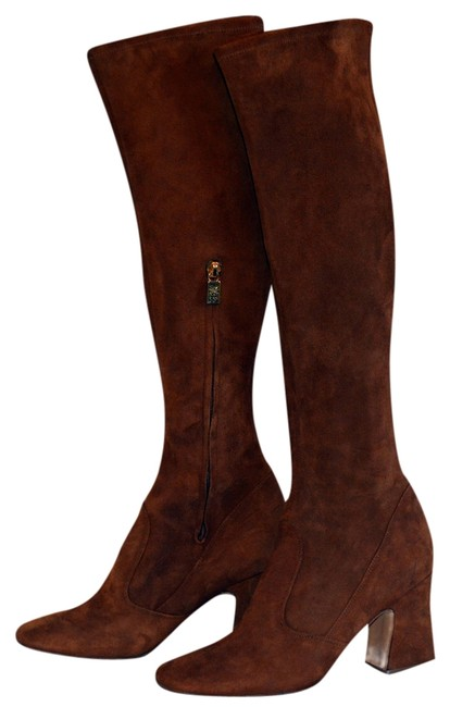 Item - Brown Suede Knee High Boots/Booties Size US 9.5