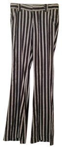 Free People Linen Bell Hippie Boho Rayon Super Flare Pants Striped
