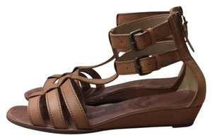 Via Spiga Camel Sandals