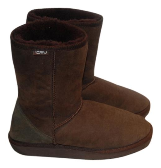 EMU Brown Boots Image 0