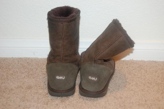 EMU Brown Boots Image 1
