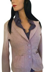 Cache Suede Goat Skin Leather Indian * Light Lilac Leather Jacket