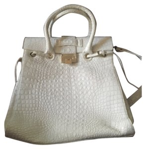 Jimmy Choo Satchel in White