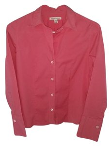 Banana Republic Button Down Shirt Coral/pink