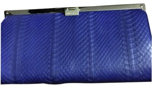 Jimmy Choo Blue Clutch