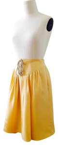 3.1 Phillip Lim Gathered Skirt Cantaloupe / Light Orange Yellow
