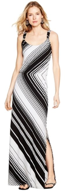 Black and white Maxi Dress by White House | Black Market