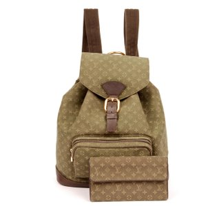 Louis Vuitton Mini Lin Limited Edition Weekend Travel Bags Wallet Montsouris Backpack