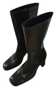 Joan & David & Tall Great Condition Made In Italy Black Boots
