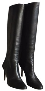 Jimmy Choo black (buttery leather) Boots