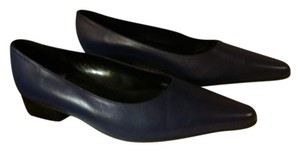 Vaneli Genuine Leather Plumb Purple Flats