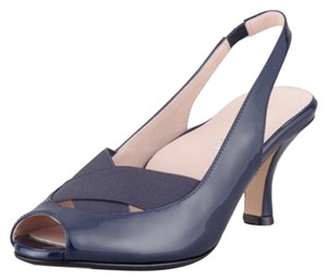 Taryn Rose Dark Blue Pumps