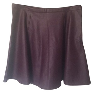 LC Lauren Conrad Skirt Ox Blood
