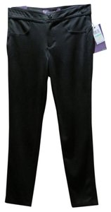 Gloria Vanderbilt Straight Pants Black