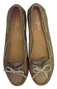 Cole Haan Metallic platinum Flats