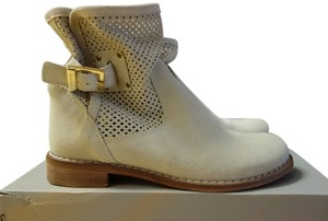 Baldinini Italian Leather Perforated tan Boots