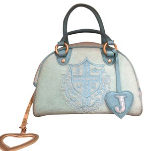 Juicy Couture Satchel in Baby Blue